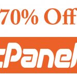 cPanel hosting 70% off